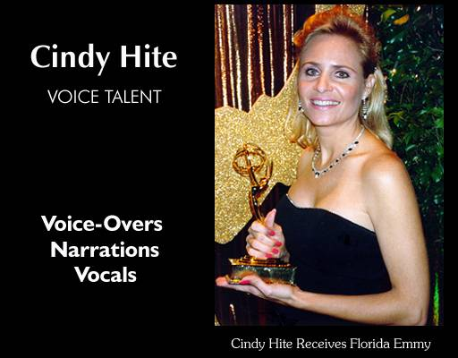 Cindy Hite, Professional Voice Talent